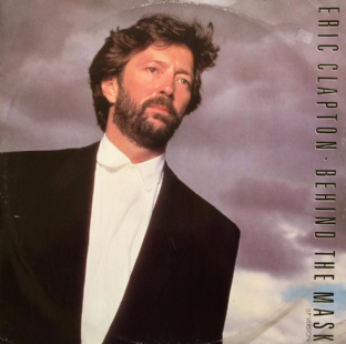 "Eric Clapton - Behind The Mask (12"") (G+/G)"
